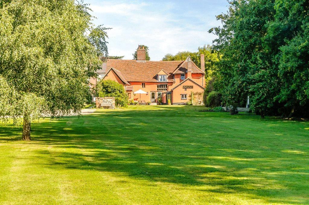 4 Bedrooms Detached House for sale in The Street, Monks Eleigh, Ipswich, Suffolk, IP7