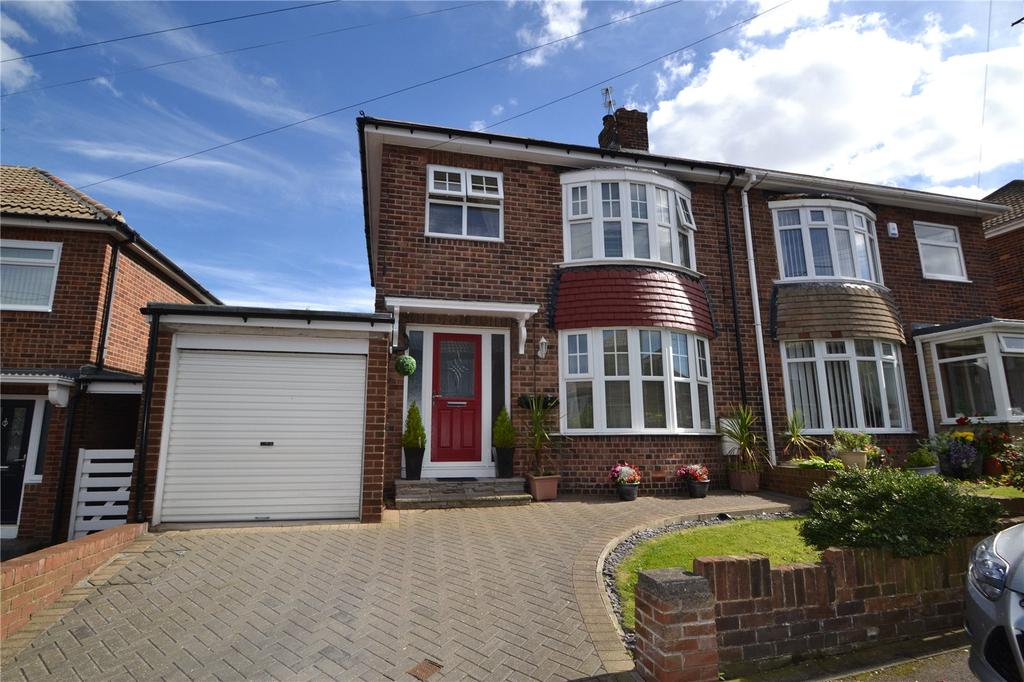 3 Bedrooms Semi Detached House for sale in Enid Gardens, Blackhall, Co Durham, TS27