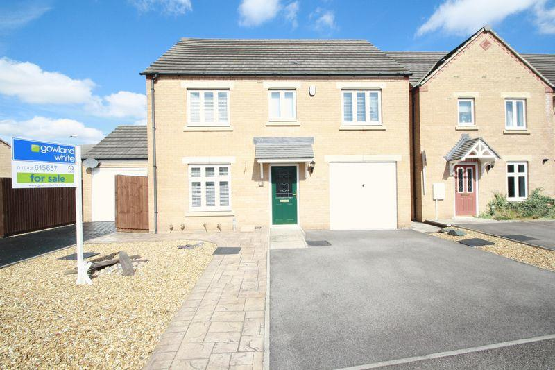 4 Bedrooms Detached House for sale in Red Admiral Close, Stockton TS19 8EN