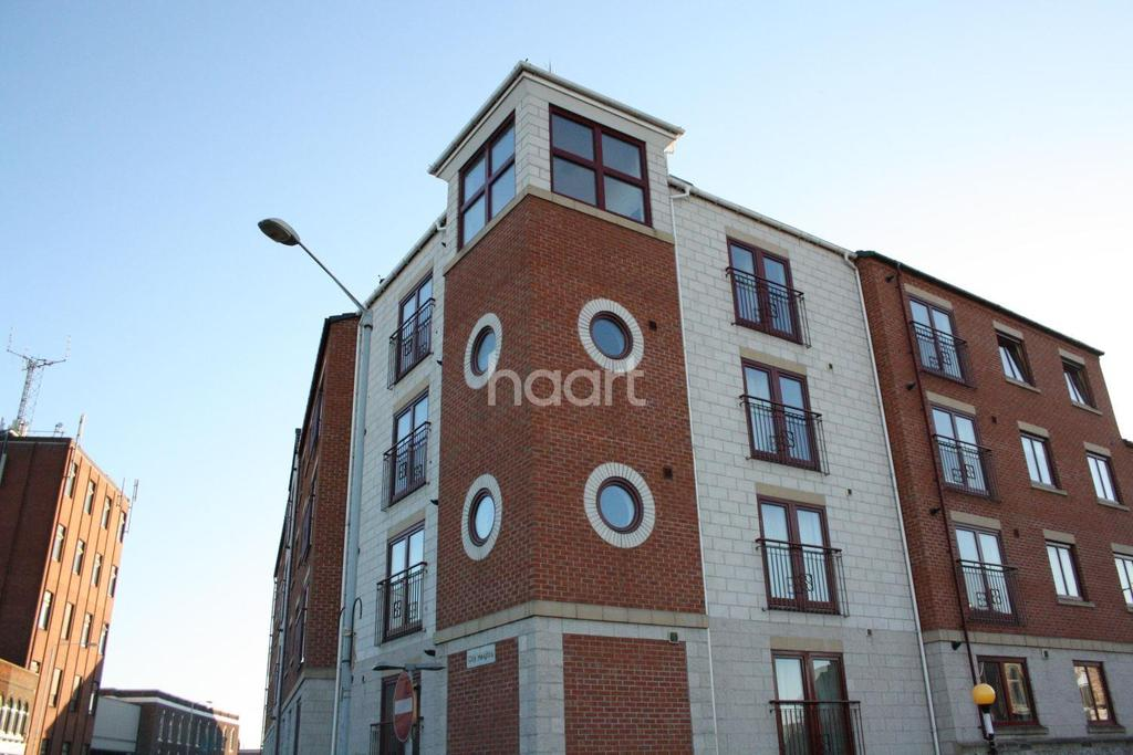 2 Bedrooms Flat for sale in City Heights, Loughborough