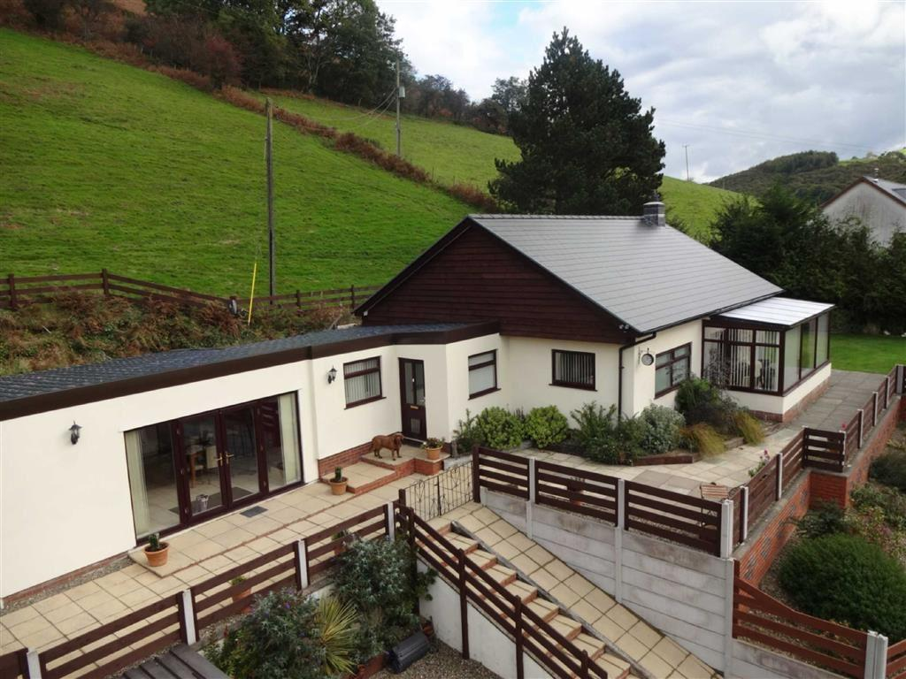 3 Bedrooms Detached Bungalow for sale in Bryngwawr, Abercegir, Machynlleth, Powys, SY20