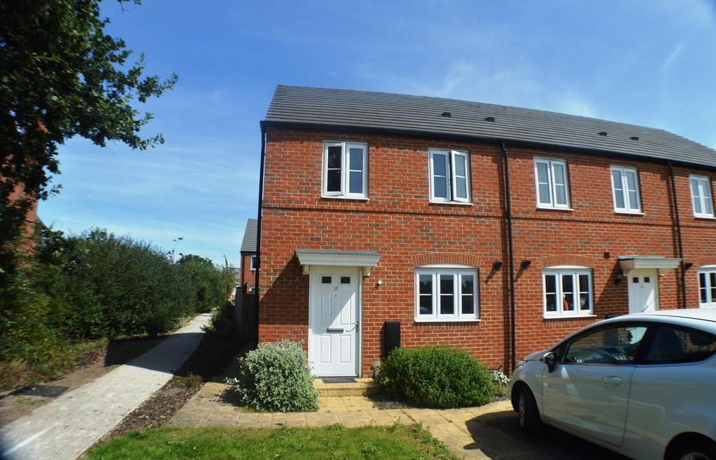 2 Bedrooms End Of Terrace House for sale in Rangers Close, Saighton