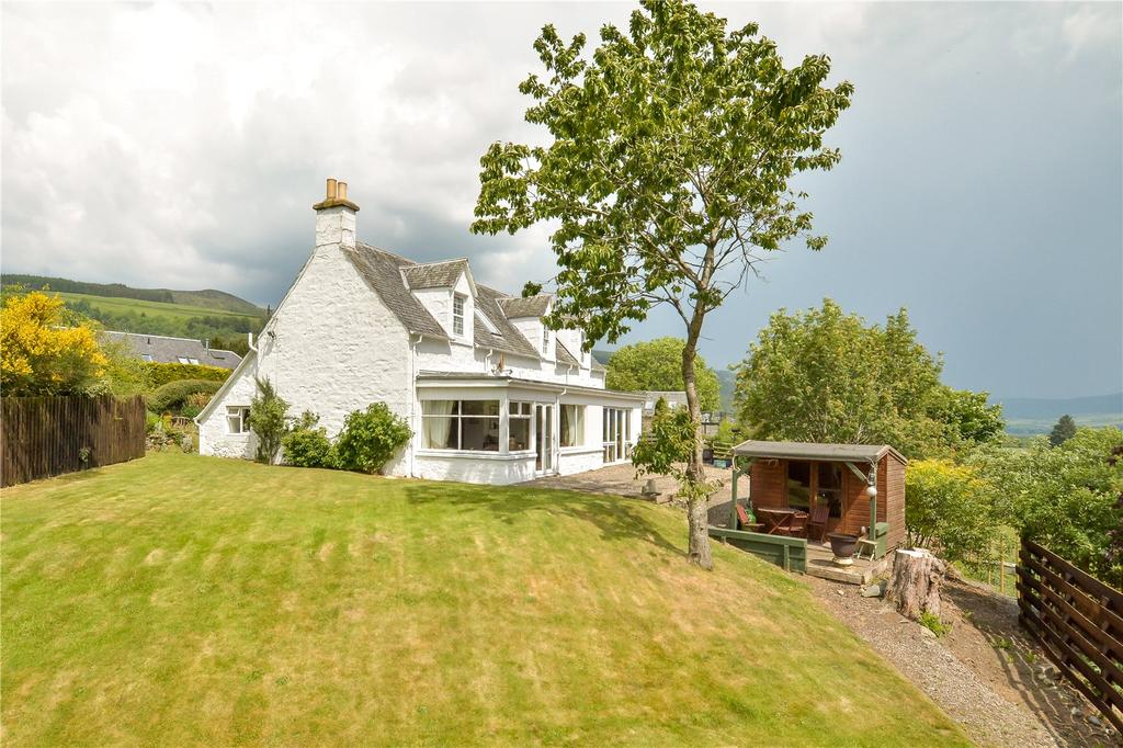 4 Bedrooms Unique Property for sale in Drumdewan Farmhouse, Dull, Aberfeldy, Perthshire, PH15