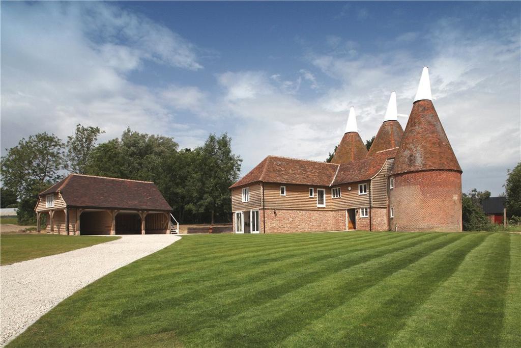 5 Bedrooms Detached House for sale in Tenterden Road, Rolvenden, Cranbrook, Kent, TN17