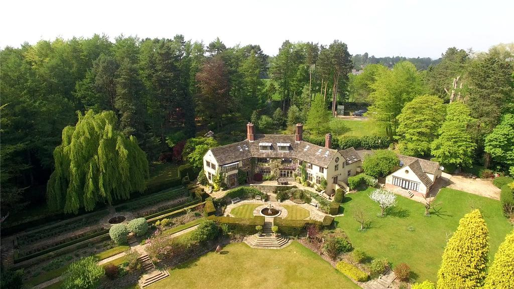 7 Bedrooms Detached House for sale in Chelford Road, Prestbury, Cheshire, SK10