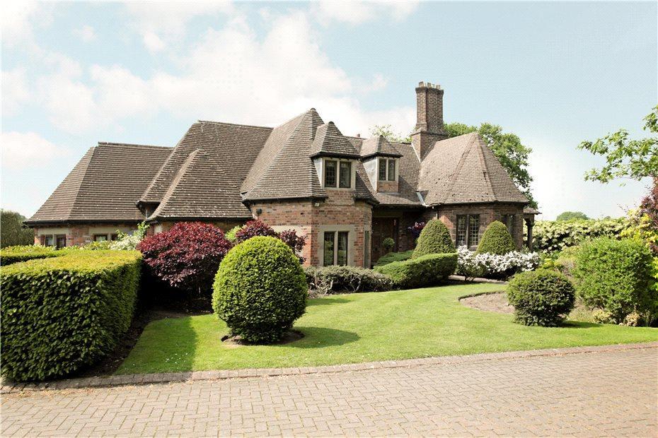 4 Bedrooms Detached House for sale in Alderley Road, Over Alderley, Cheshire, SK10