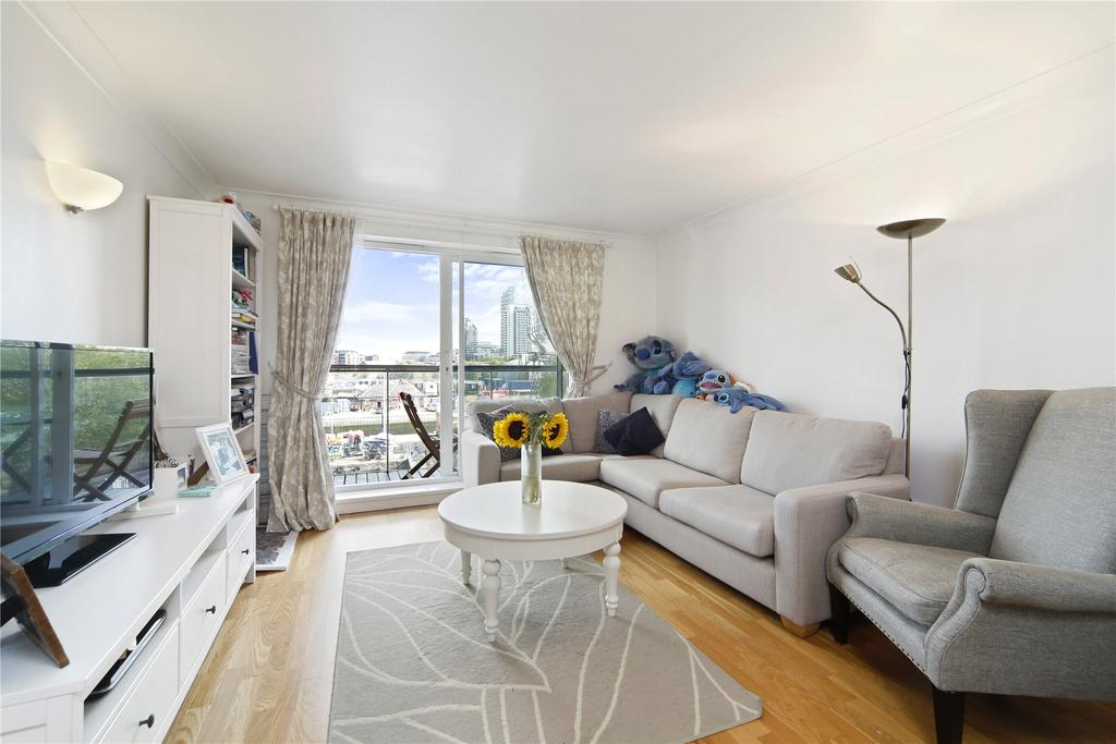 2 Bedrooms Flat for sale in Antilles Bay, Lawn House Close, London