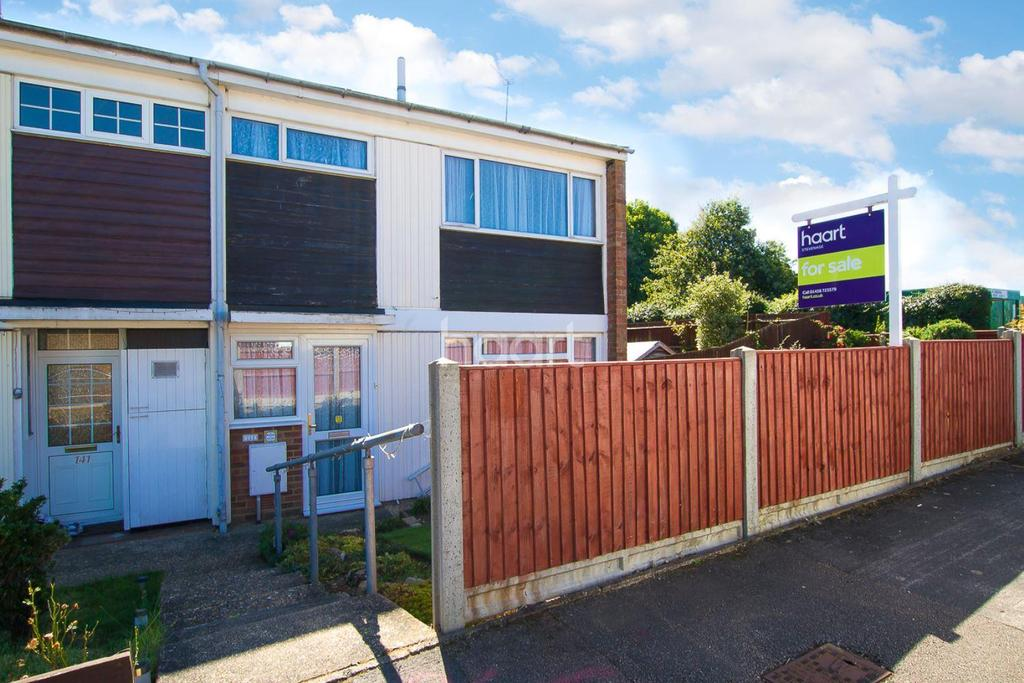 3 Bedrooms End Of Terrace House for sale in Scarborough Avenue, Symond's Green, Stevenage