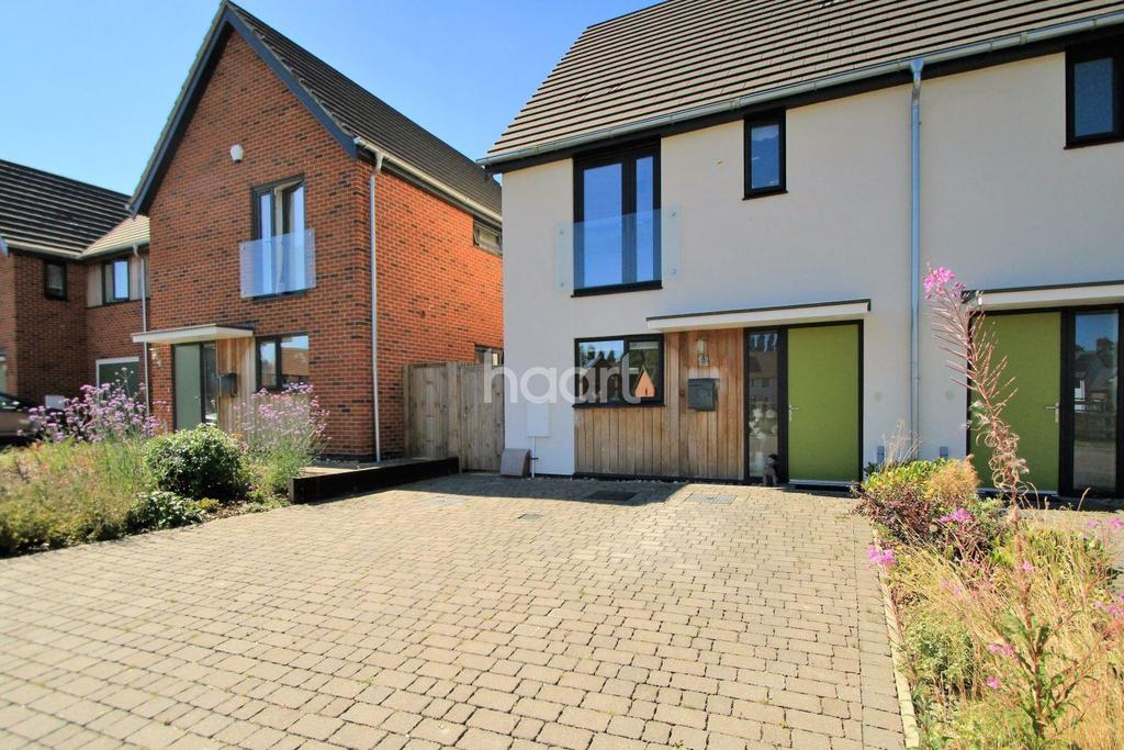 3 Bedrooms Semi Detached House for sale in Farrier Road, IP25