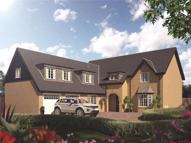 5 Bedrooms Detached House for sale in Jubilee Chase, Baldock Road, Royston, Hertfordshire