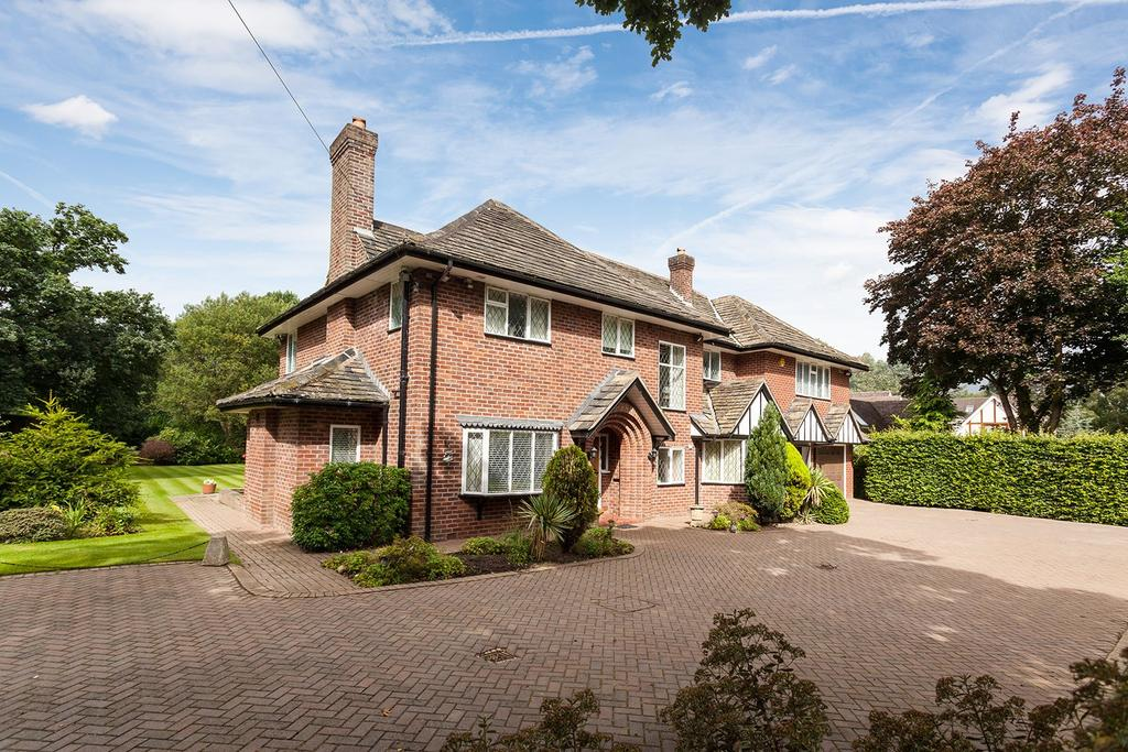 5 Bedrooms Detached House for sale in Hough Lane, Wilmslow