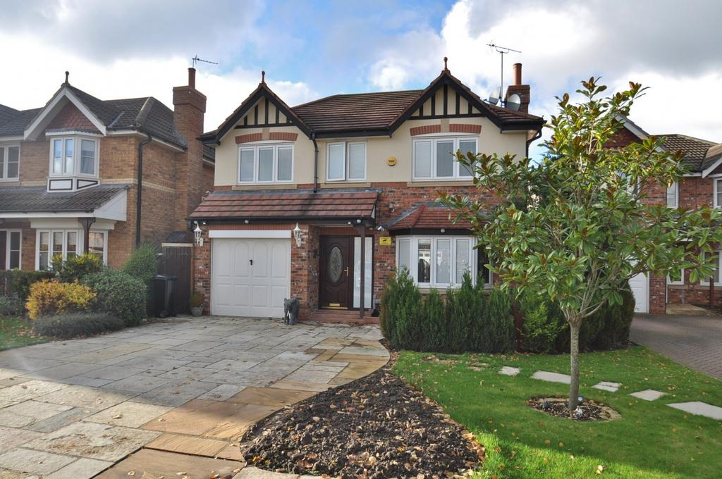 4 Bedrooms Detached House for sale in Eden Park Road, Cheadle Hulme