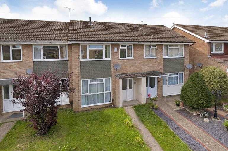 3 Bedrooms Terraced House for sale in Aldon Close Vinters Park Maidstone Kent, ME14 5QF