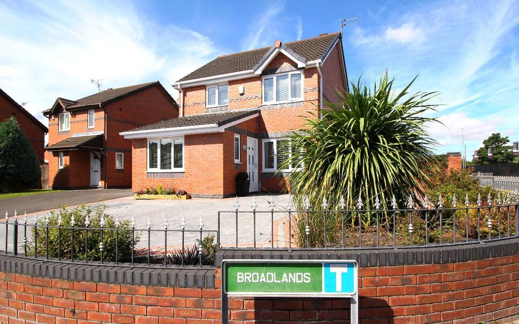 3 Bedrooms Detached House for sale in Broadlands