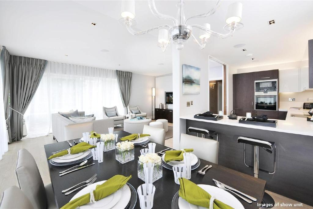 3 Bedrooms Flat for sale in New Broadway, Ealing, W5