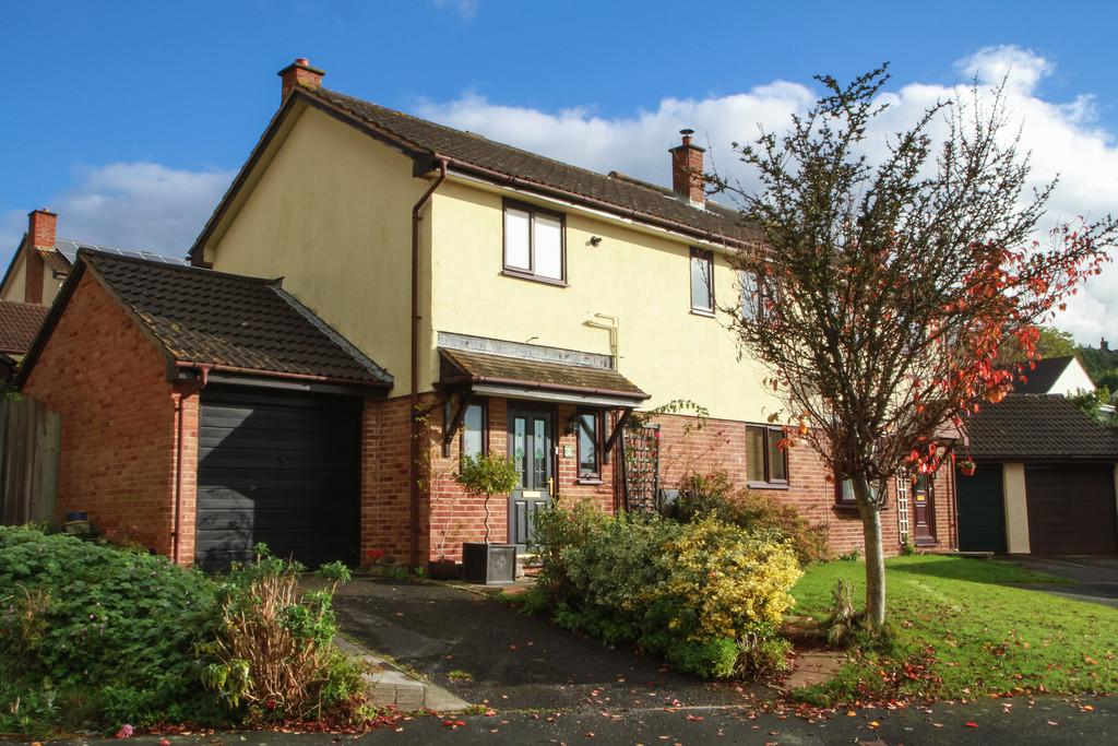 3 Bedrooms Semi Detached House for sale in Bullands Close, Bovey Tracey