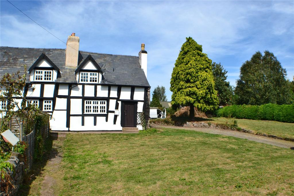 3 Bedrooms Semi Detached House for sale in The Gables Building Plot, Staunton-on-Wye, Hereford