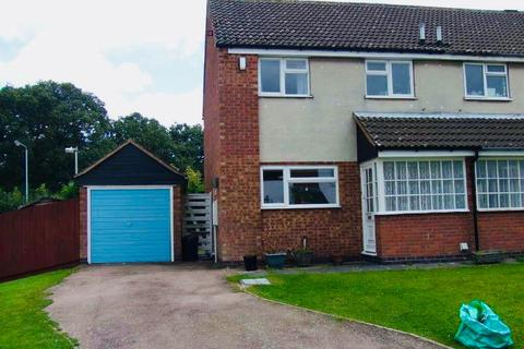 3 bedroom semi-detached house for sale - Wexford Close, Oadby, Leicester, Leicestershire, LE2 4TE
