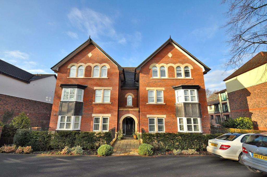 2 Bedrooms Apartment Flat for sale in Cambridge House, Bramhall Lane South, Bramhall, Stockport