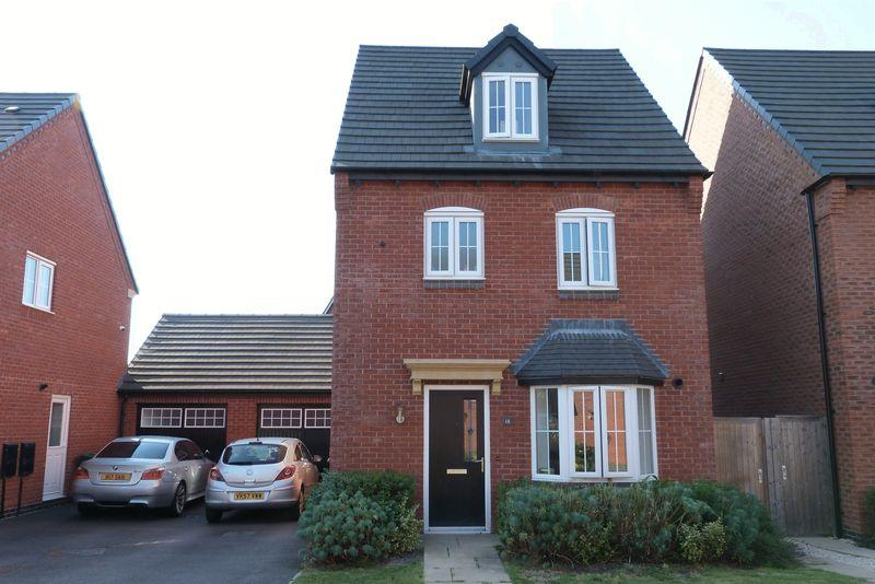 4 Bedrooms Detached House for sale in John Frear Drive, Syston, Leicester