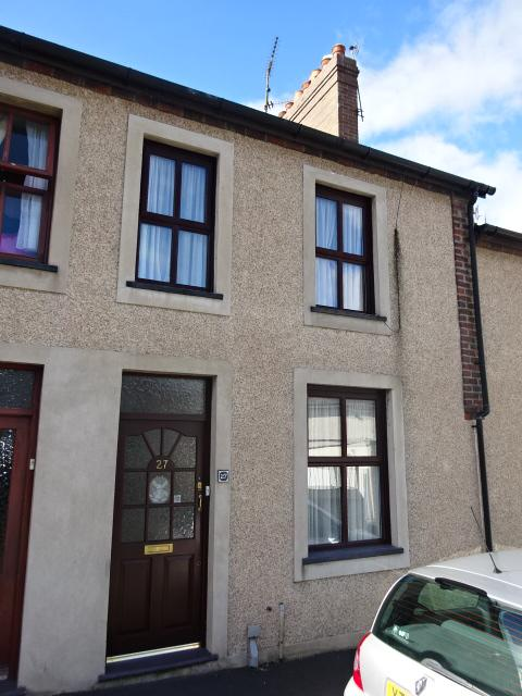 2 Bedrooms Terraced House for sale in WILLIAMS STREET, BANGOR LL57