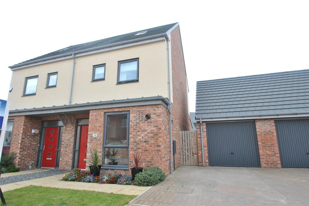 3 Bedrooms Semi Detached House for sale in Wooley Close, Elba Park, Houghton le Spring, DH4