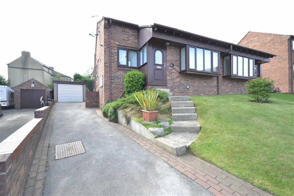 2 Bedrooms Semi Detached Bungalow for sale in Woodlands Croft, Kippax, Leeds, LS25
