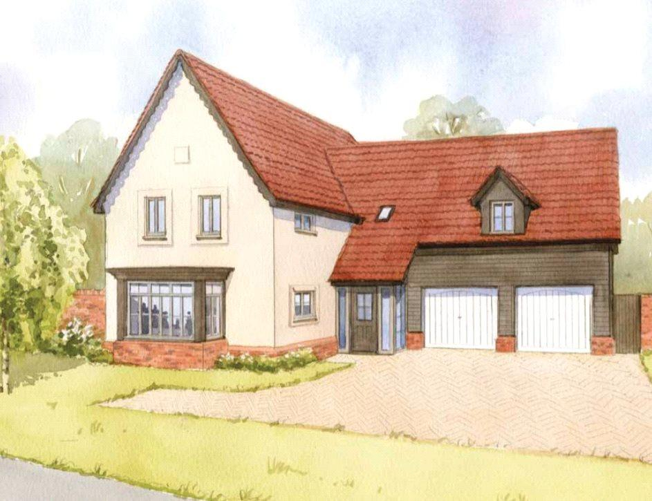 4 Bedrooms Detached House for sale in Newlands Gate, Bunwell Road, Spooner Row, Wymondham, NR18
