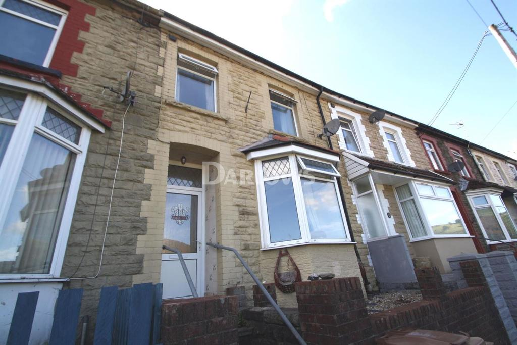 3 Bedrooms Terraced House for sale in Station Terace, Senghenydd, Caerphilly