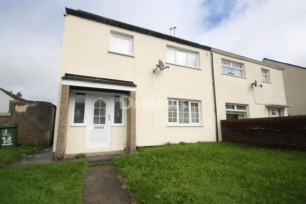 3 Bedrooms Semi Detached House for sale in Ty Coch, Rhymney