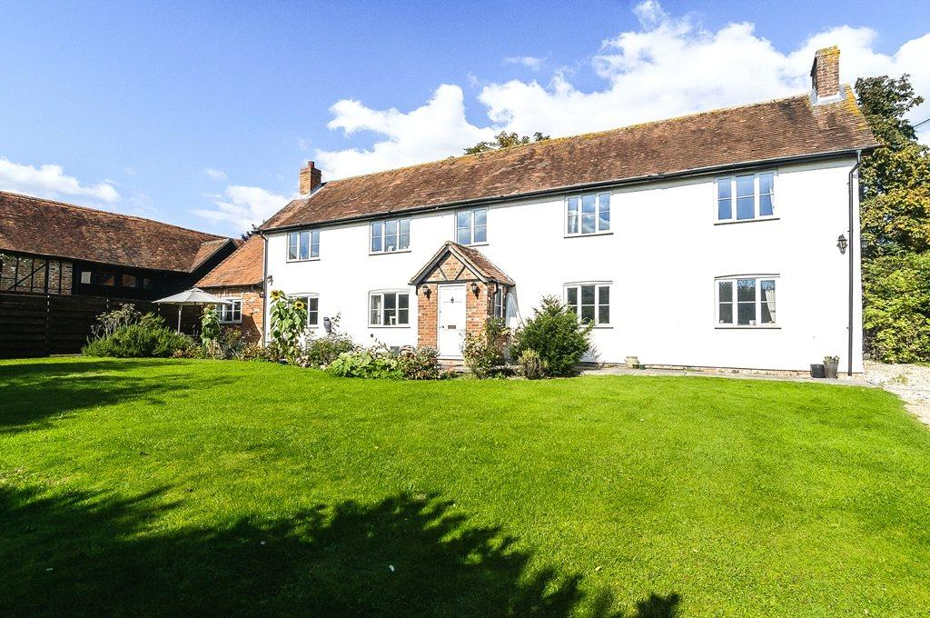 6 Bedrooms Barn Conversion Character Property for sale in Shop Lane, Leckhampstead, Newbury, RG20