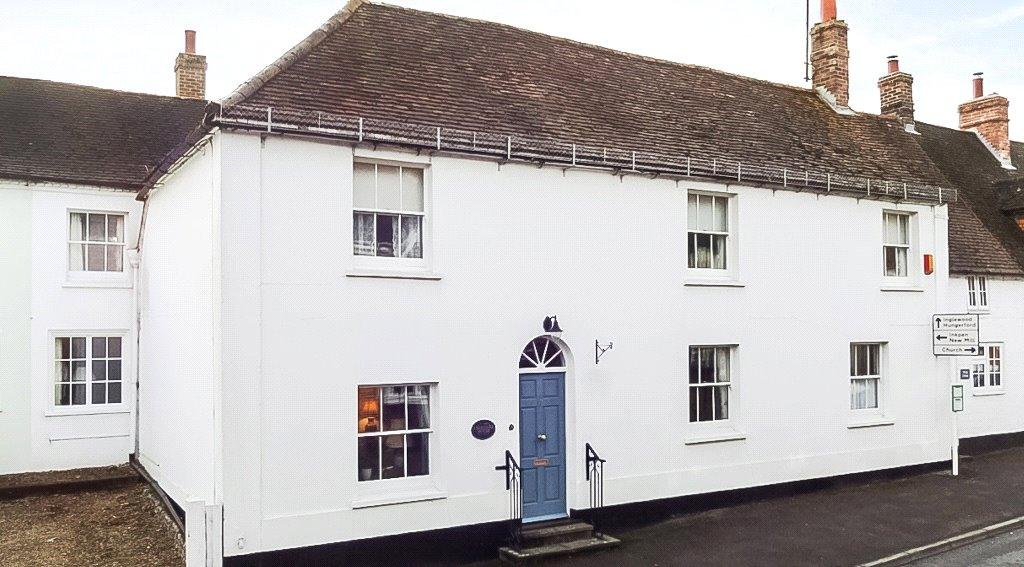 4 Bedrooms Semi Detached House for sale in Station Road, Kintbury, Hungerford, RG17