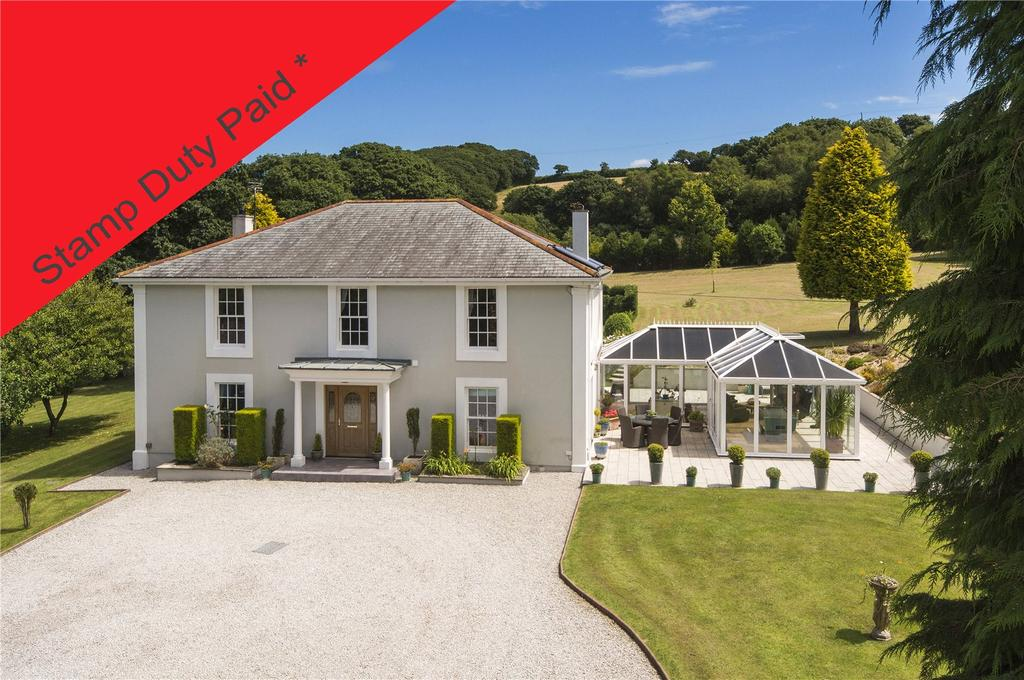 5 Bedrooms Detached House for sale in Penweathers, Truro, Cornwall, TR3