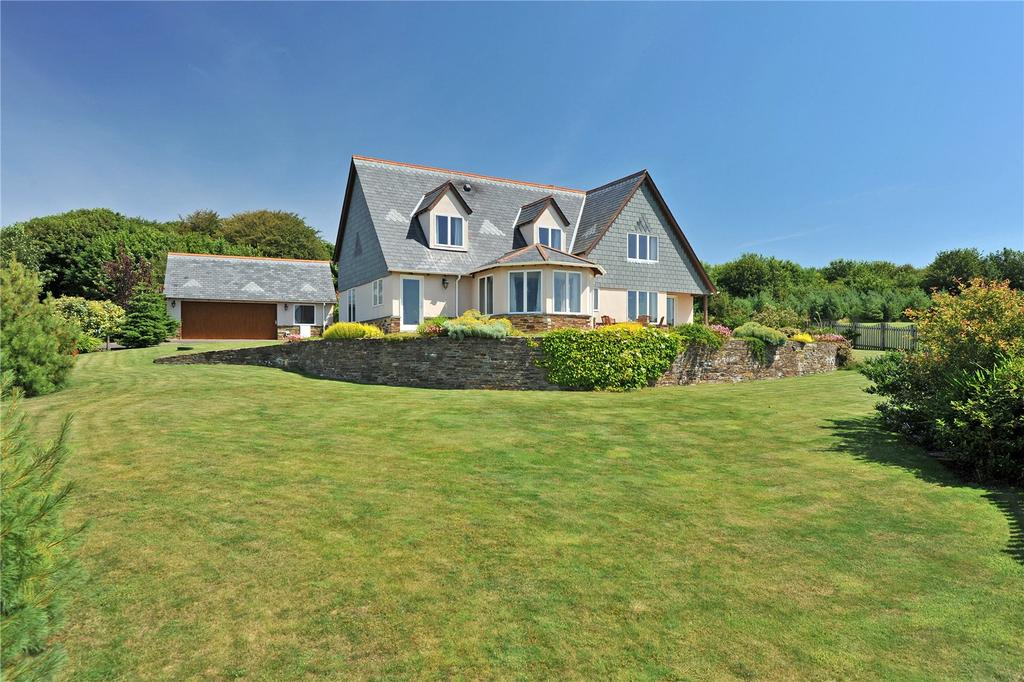 4 Bedrooms Detached House for sale in Bowood Park, Camelford, Cornwall, PL32