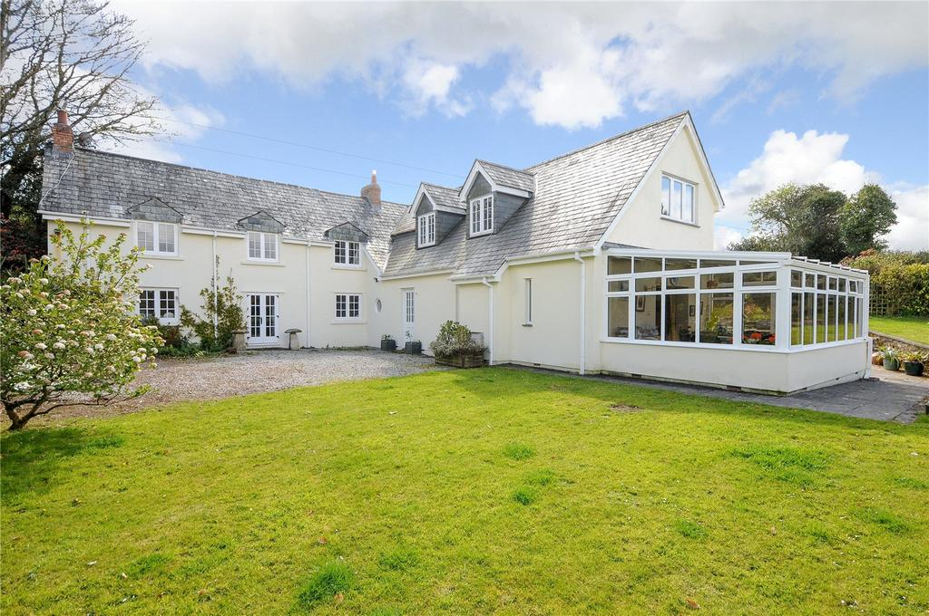4 Bedrooms Detached House for sale in Boconnoc, Lostwithiel, Cornwall, PL22