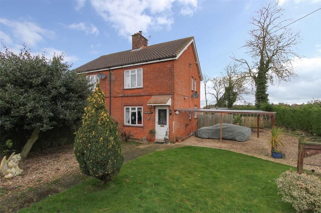 2 Bedrooms Semi Detached House for sale in West End, Whissonsett, Dereham, Norfolk