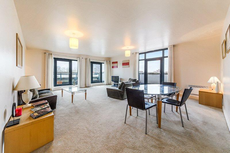 2 Bedrooms Penthouse Flat for sale in Eluna Apartments, 4 Wapping Lane, Wapping, London, E1W