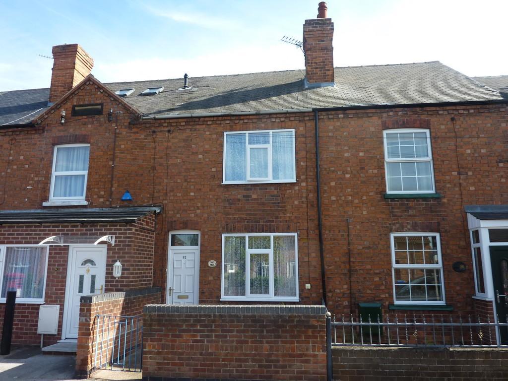 2 Bedrooms Terraced House for sale in Hallcroft Road, Retford, Notts