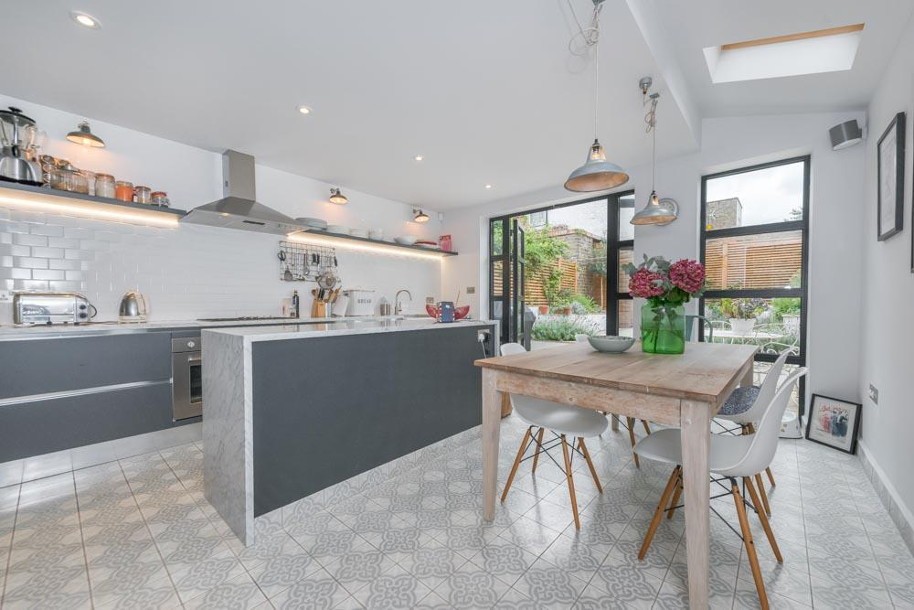 4 Bedrooms Terraced House for sale in Priory Park Road, London, NW6