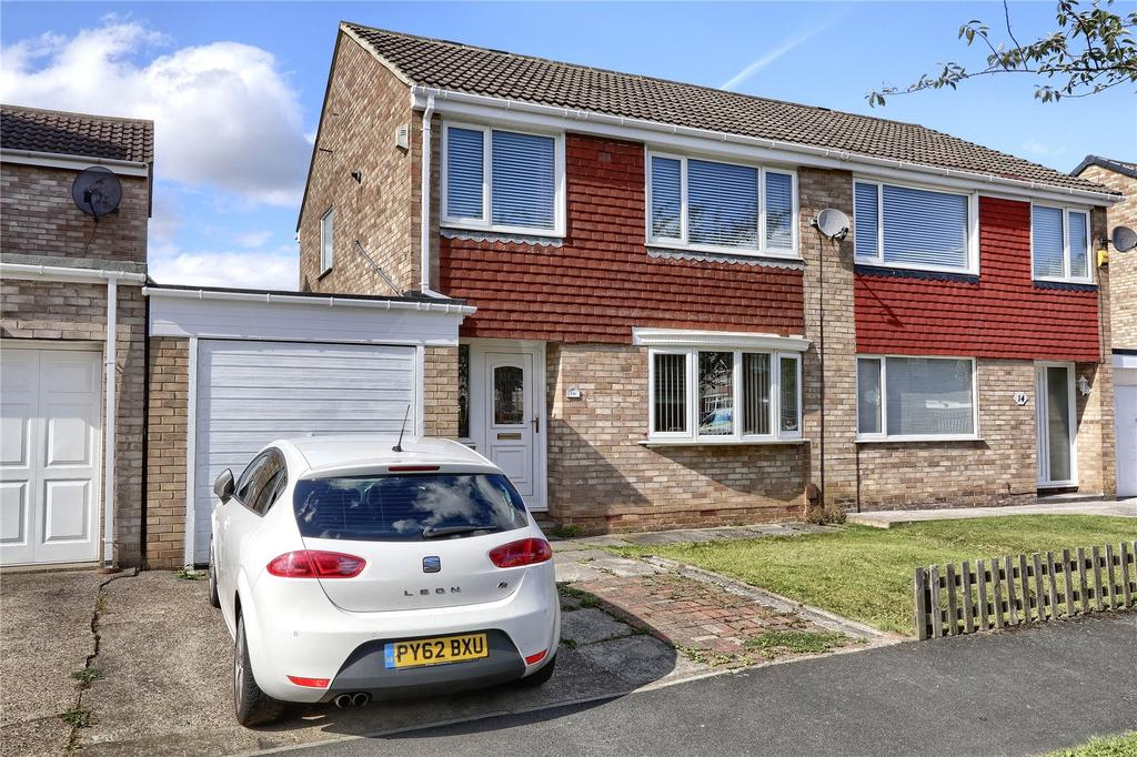 3 Bedrooms Semi Detached House for sale in Axminster Road, Hemlington