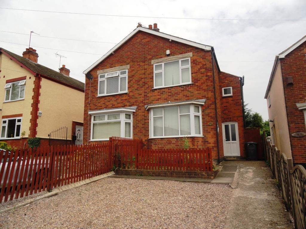 3 Bedrooms Semi Detached House for sale in Markfield Road, Groby, Leicester, Leicestershire, LE6 0FS