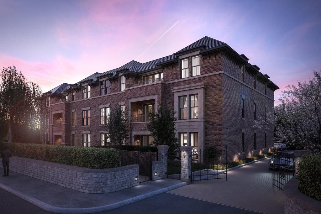 2 Bedrooms Apartment Flat for sale in Chapel Lane, Wilmslow