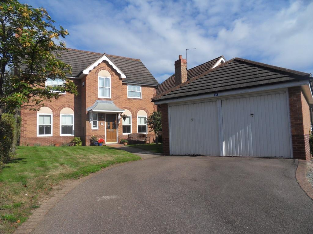 4 Bedrooms Detached House for sale in Lemontree Lane, Loughborough