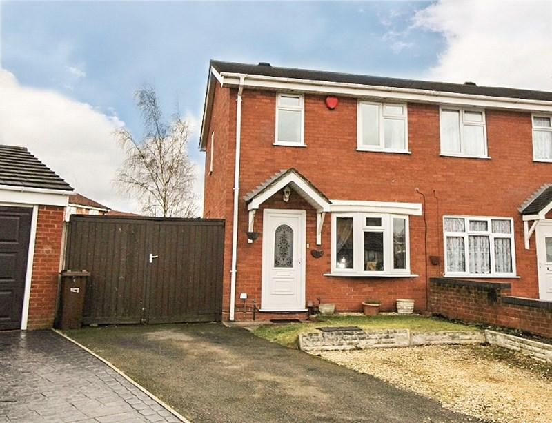 2 Bedrooms Semi Detached House for sale in Marden Close, Hadley Heath, Willenhall