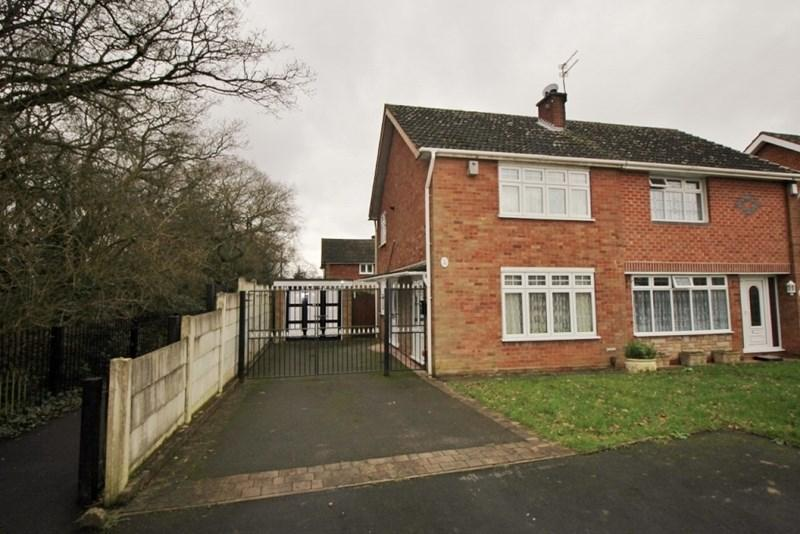 2 Bedrooms Semi Detached House for sale in Myrtle Close, The Woodlands, Willenhall