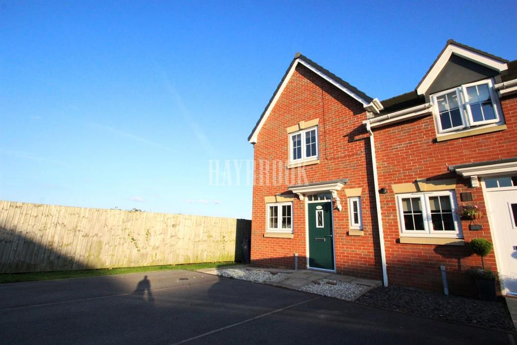 2 Bedrooms End Of Terrace House for sale in Oak Head Close, Barnsley
