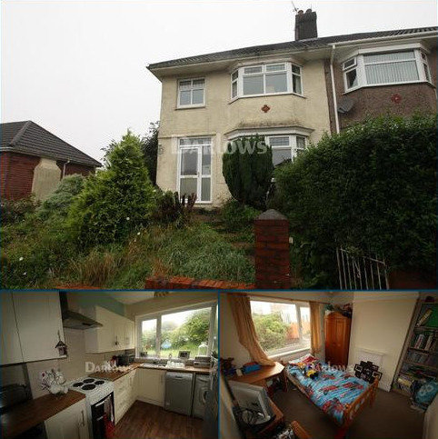 3 bedroom semi-detached house to rent - Lon Mafon, Sketty