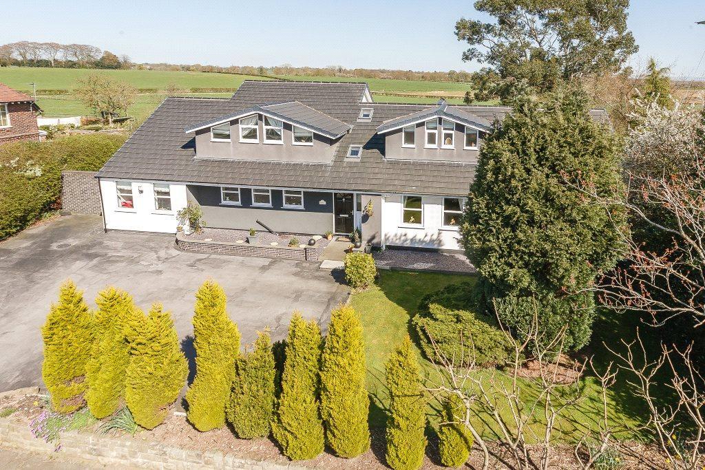 4 Bedrooms Detached House for sale in Street Lane, Lower Whitley, Warrington, WA4