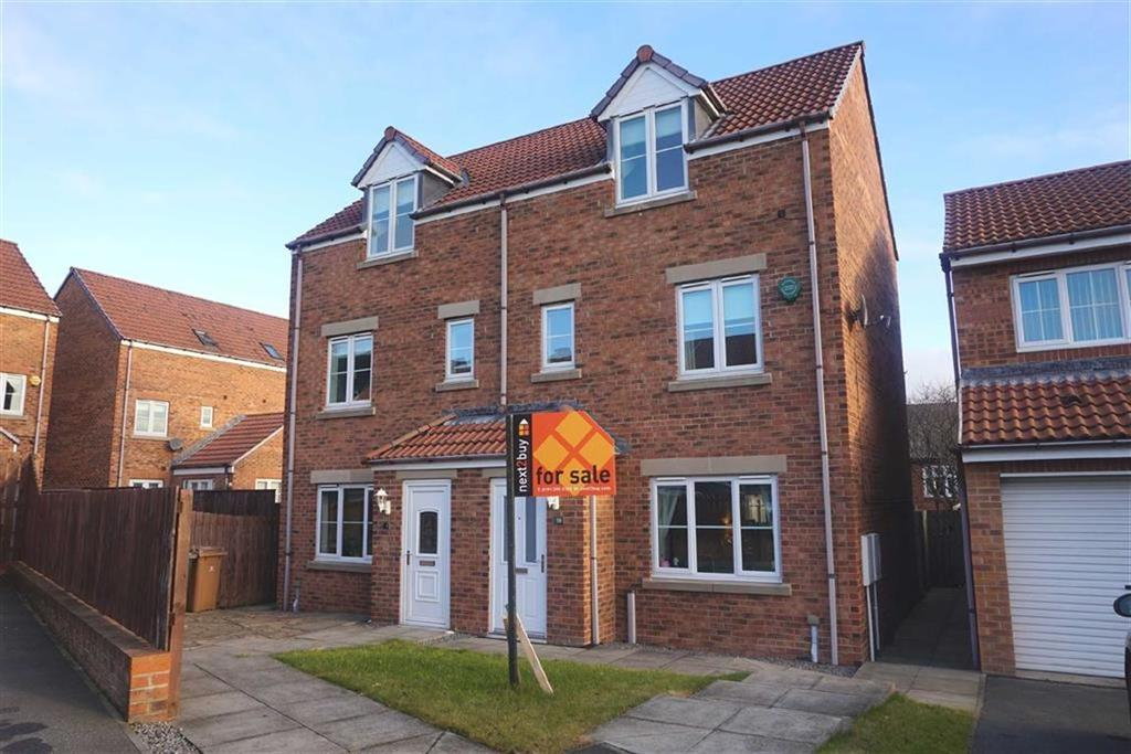 3 Bedrooms Semi Detached House for sale in Coquet Gardens, Hadrian Mews, Wallsend, NE28