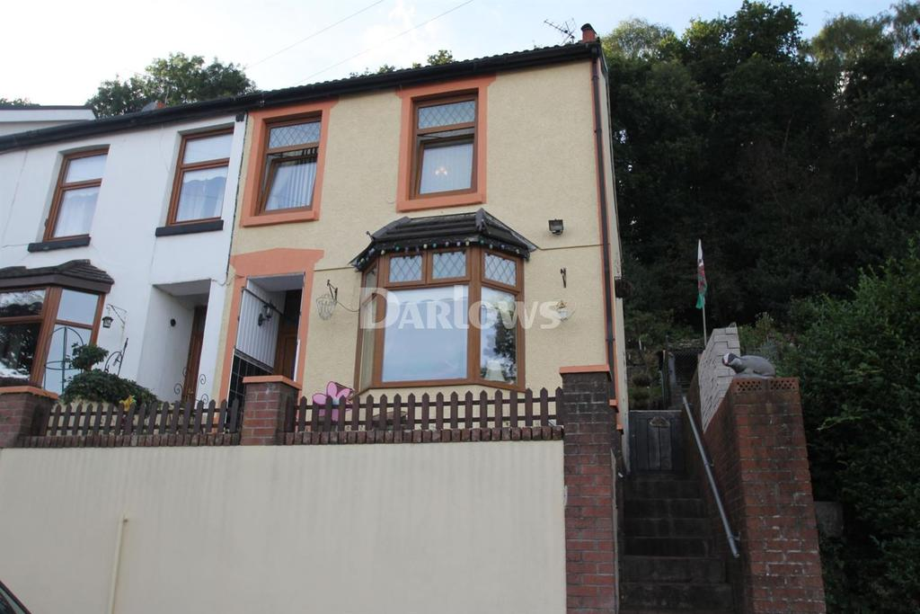 2 Bedrooms Semi Detached House for sale in Plantation Road, Abercynon
